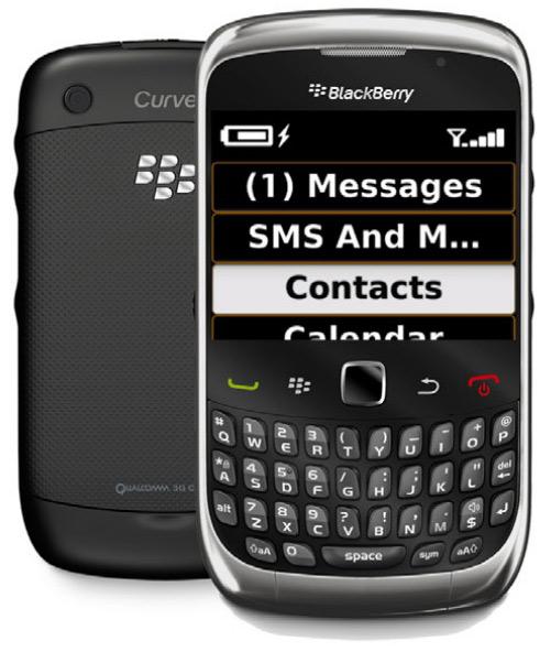BlackBerry Screen Reader, Εφαρμογή για άτομα με προβλήματα όρασης