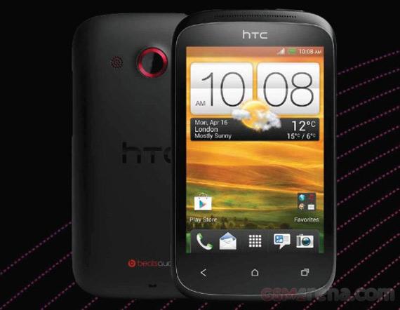 HTC Desire C, Ανακοινώθηκε ανεπίσημα