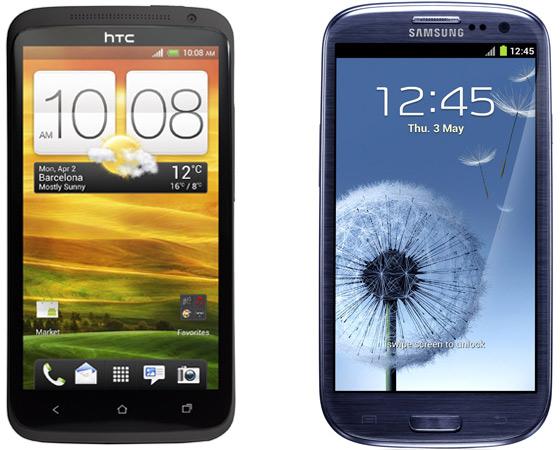 Super Amoled εναντίον S-LCD 2 ή διαφορετικά Galaxy S III vs. One X