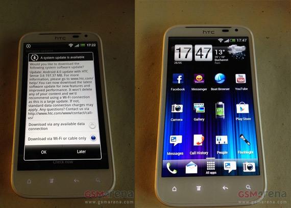 HTC Sensation XL, Ξεκίνησε η αναβάθμιση σε Ice Cream Sandwich;