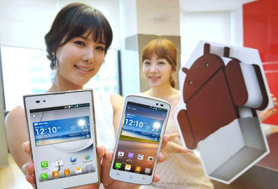 LG Optimus Vu, Η αναβάθμιση σε Ice Cream Sandwich αναμένεται μέσα στον Ιούνιο
