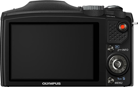 Olympus SZ-31MR, Με τεχνολογία με iHS και x24 wide super-zoom