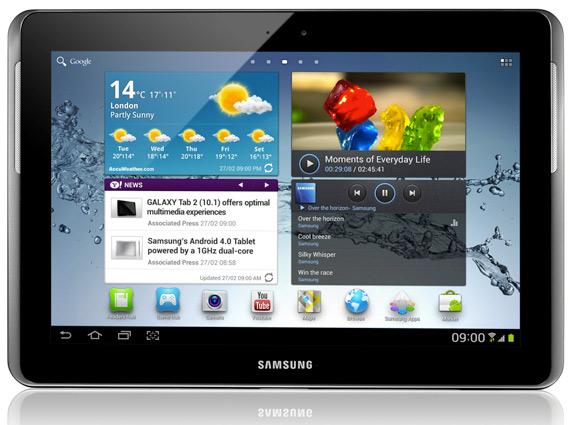 Samsung Galaxy Tab 2 10.1, Έρχεται στην Cosmote