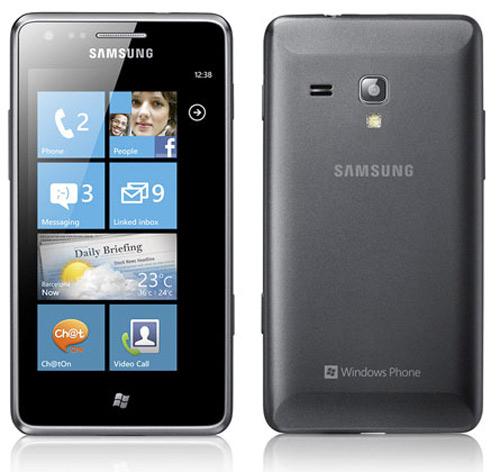 Samsung Omnia M, Με οθόνη 4 ιντσών Super AMOLED και Windows Phone