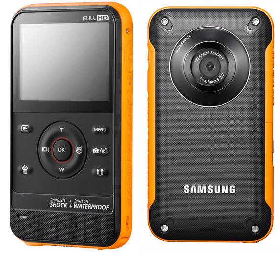Samsung W300, Αδιάβροχη κάμερα τσέπης 1080p
