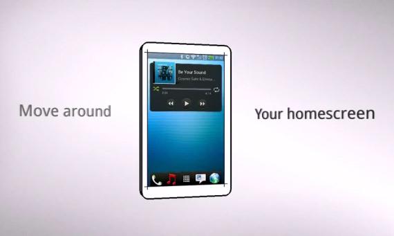Smart Move, Έλεγχος του κινητού με κινήσεις