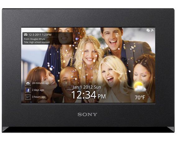 Sony DPF-WA700, Ψηφιακή κορνίζα S-Frame με Wi-Fi