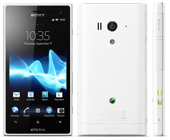Sony Xperia Acro S, Με οθόνη 4.3 ίντσες και κάμερα 12.1 Megapixel [ανθετικό στο νερό]