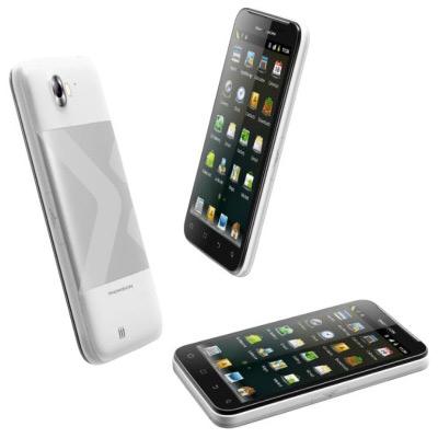 Thomson X-view 2 ICS smartphone, Με οθόνη 5.3 ίντσες και δύο κάρτες SIM