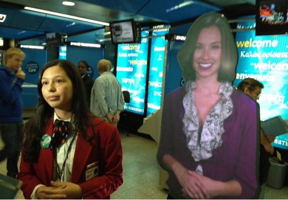 Αεροδρόμια ΗΠΑ, Avatars σας προσφέρουν πληροφορίες και καθοδήγηση