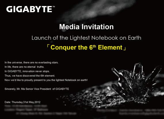 Gigabyte X11, Θα είναι το πιο ελαφρύ laptop