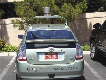 Google, Αυτοκίνητα που οδηγούνται μόνα τους τριγυρνούν στη Νεβάδα...