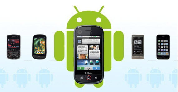 Android, Το πράσινο ρομποτάκι με τα διαφορετικά πρόσωπα