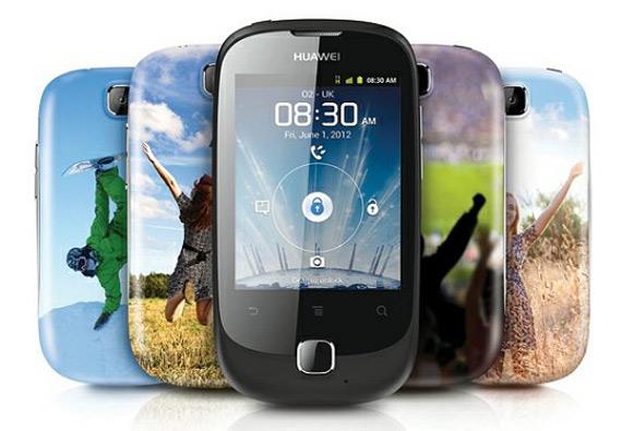 Huawei Ascend Y 100, Με οθόνη 2.8 ίντσες και Gingerbread