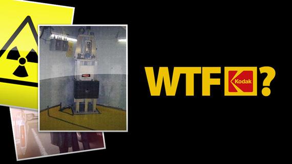 Kodak, Μυστικός πυρηνικός αντιδραστήρας γεμάτος ουράνιο στα γραφεία της...