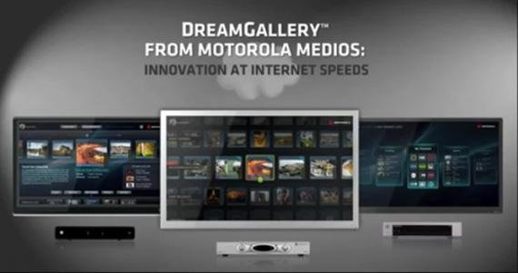Motorola DreamGallery, Νέο και εύχρηστο interface για Smart TVs