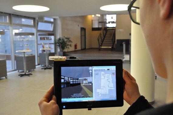 GPS Εσωτερικού χώρου, Ερευνητές του Ινστιτούτου Fraunhofer με την Bosch πειραματίζονται μαζί του