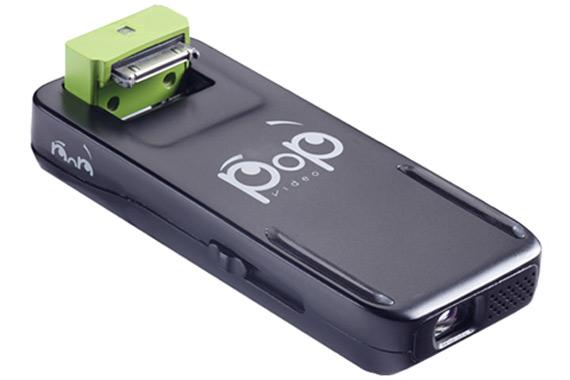 PoP Video Pico Projector, Gadget για να έχετε βιντεοπροβολέα στο iPhone