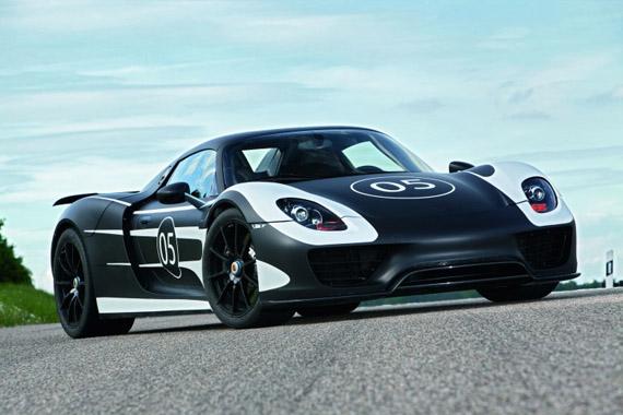 Porsche 918 Spyder Hybrid, Θα μπει σε παραγωγή με απόδοση 770 ίππους