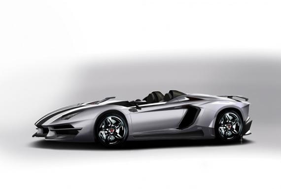Prindiville Lamborghini Aventador J Concept, Παραλλαγή πάνω σε ένα όνειρο