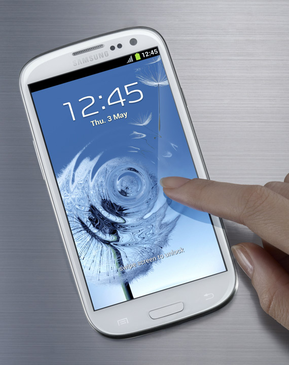 Samsung Galaxy S III, Επίσημα με οθόνη 4.8 ίντσες Super AMOLED και S Voice