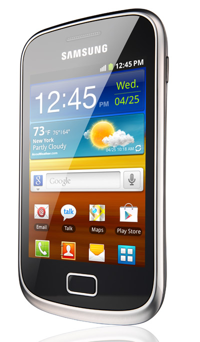 Samsung Galaxy mini 2, Το έφερε η Vodafone