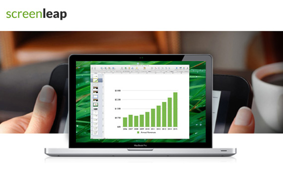 Screenleap, Διαμοιρασμός οθόνης χωρίς εγκατάσταση Software