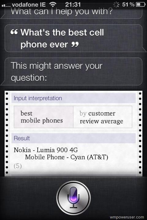 Τολμάτε να ρωτήσετε το Siri ποιο είναι το καλύτερο κινητό που κατασκευάστηκε ποτέ;
