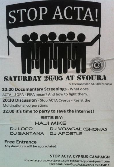 Stop Acta Cyprus