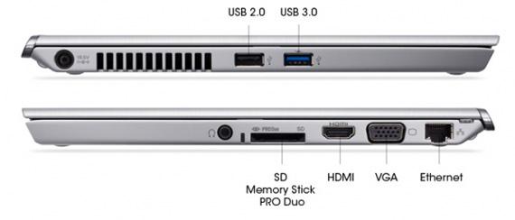 Sony VAIO T Ultrabook, Φωτογραφίες των Τ11 και Τ13