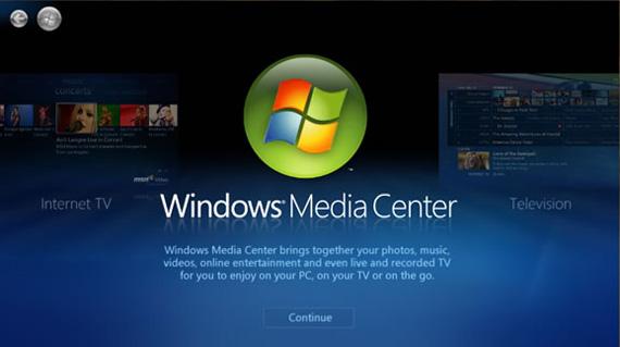 Windows 8, Η Microsoft δεν θα συμπεριλάβει το Media Center