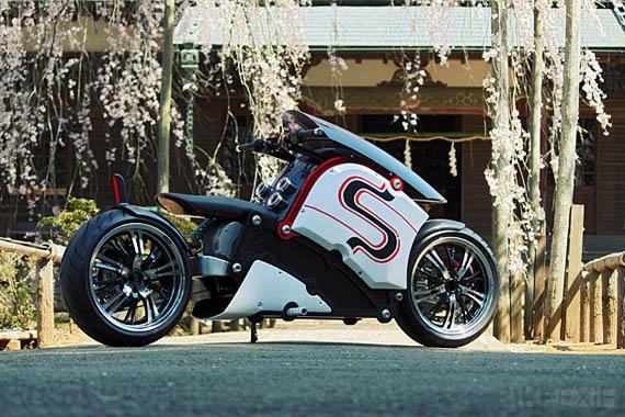 Zecoo, Alien μοτοσυκλέτα με ηλεκτρικό κινητήρα