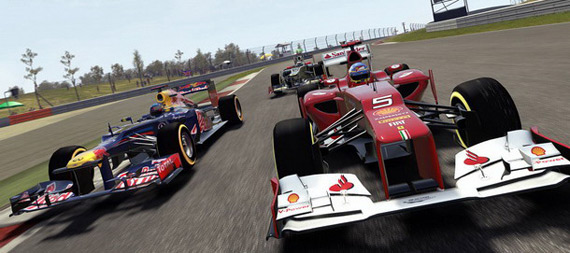 F1 2012, Gameplay video