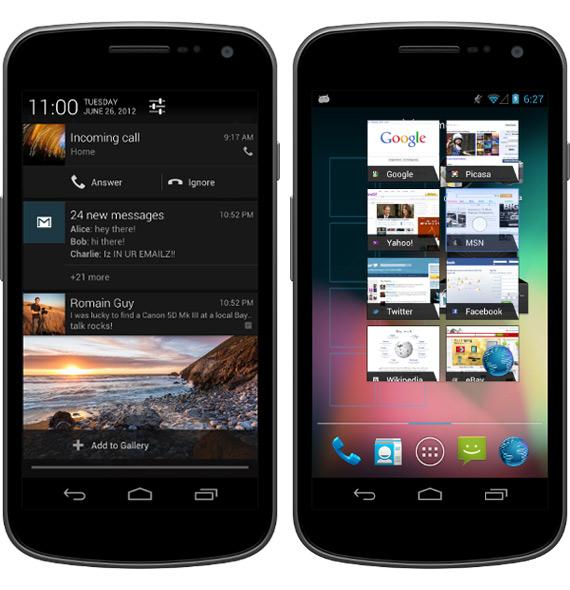 Έχεις Galaxy Nexus; Έχεις Android 4.1 Jelly Bean από σήμερα!