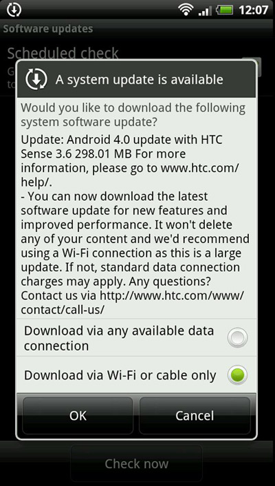 HTC EVO 3D, Ξεκίνησε η αναβάθμιση σε Android Ice Cream Sandwich