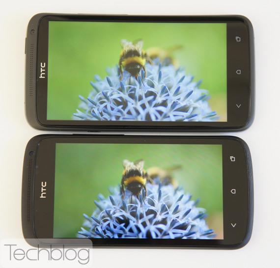 Display War: S-LCD2 vs. Super AMOLED - HTC One X vs. HTC One S