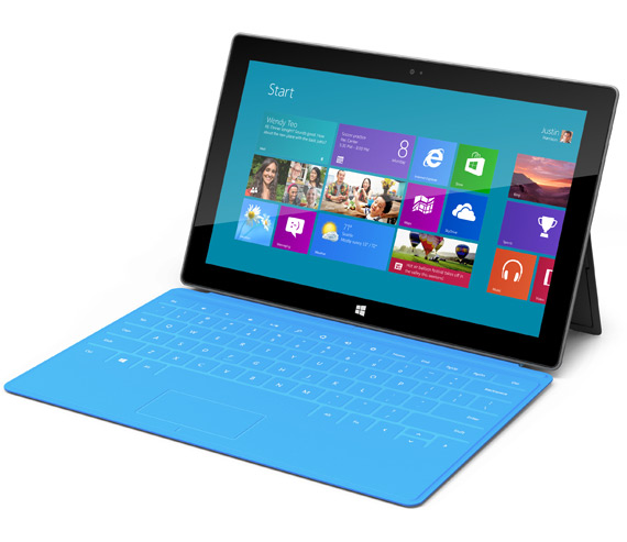 Microsoft Surface tablet, Πιο αναλυτικά