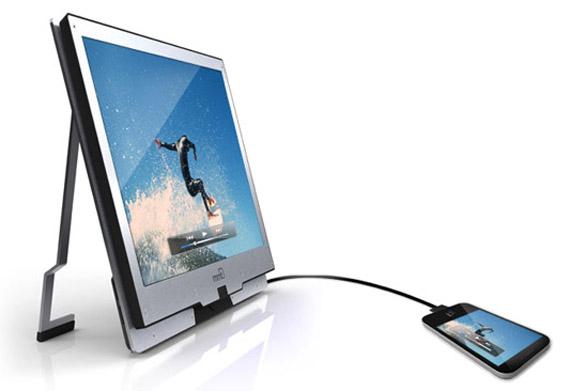 VESA Mobility DisplayPort, To Smartphone συνδέεται με την οθόνη του PC και όχι μόνο