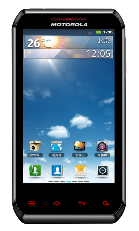 Motorola XT760, Διπύρηνο Android smartphone για την αγορά της Κίνας