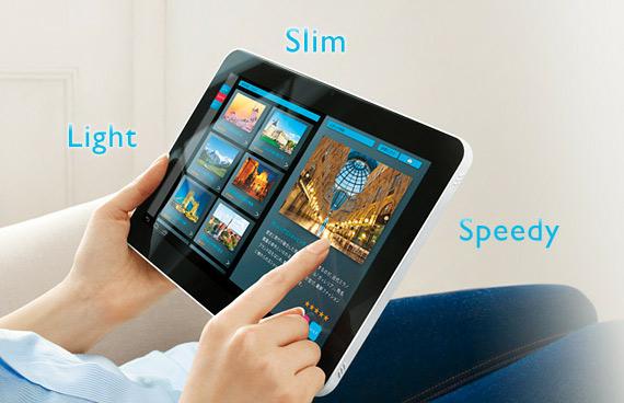 NEC LifeTouch L, Android tablet για επαγγελματίες
