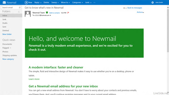 Windows Hotmail, Ετοιμάζεται για το redesign ενόψει της κυκλοφορίας των Windows 8
