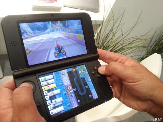 Nintendo 3DS XL σε hands-on video, Δείχνει μεγάλο και εντυπωσιακό
