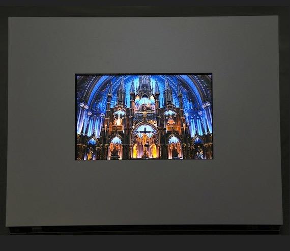 Sharp IGZO, Σε οθόνες LCD και OLED +μια εύκαμπτη