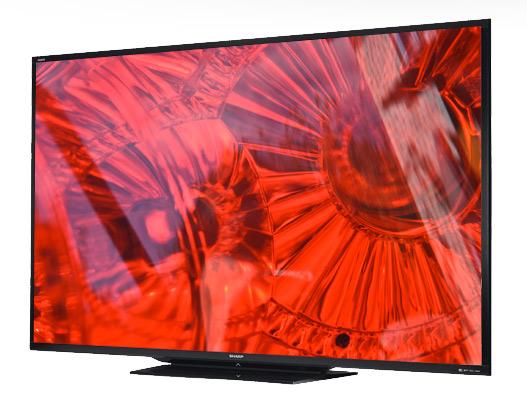 Sharp LC-90LE745U, Η μεγαλύτερη τηλεόραση LED 90 ιντσών