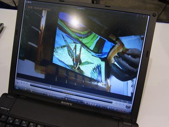 Sony, Δημιούργησε εύκαμπτη οθόνη OLED 9.9 ιντσών ανάλυσης qHD