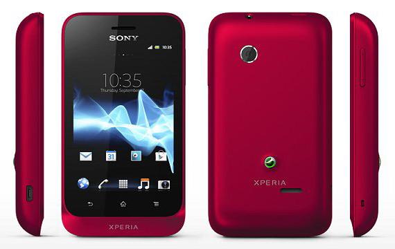 Sony Xperia Tipo, Με οθόνη 3.2 ίντσες και Ice Cream Sandwich