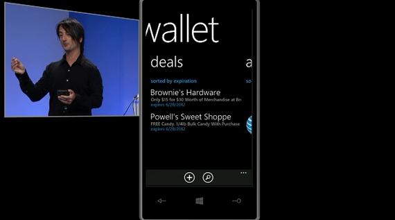 Windows Phone Wallet Hub, Τα νέα κινητά της Microsoft γίνονται πορτοφόλια