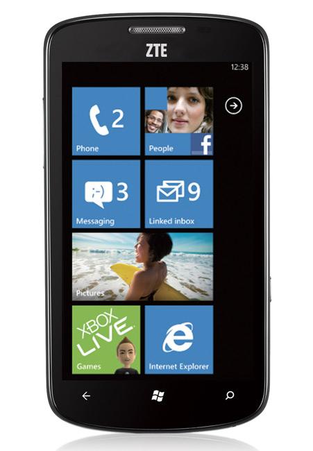 ZTE Tania Windows Phone, Με οθόνη AMOLED και 279 ευρώ στη WIND