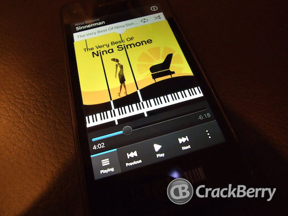 BlackBerry 10, Δημοσίευση φωτογραφιών από Hands On του CrackBerry