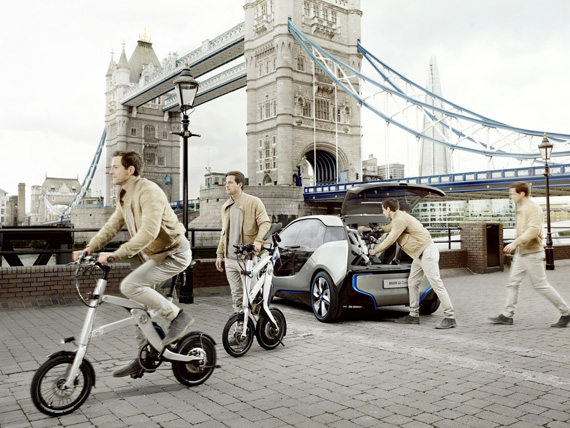 BMW iPedelec Concept, Ένα high tech ποδήλατο από τη Βαυαρία